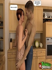 3DFamilyOrgies – Tight Daughter Nailed by Father