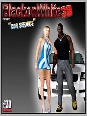 BlackonWhite3D – Car Service