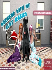 ExtremeXworld – Weekend with my aunt Jessica