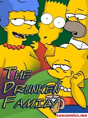 The Drunken Family – The Simpsons Porn Parody