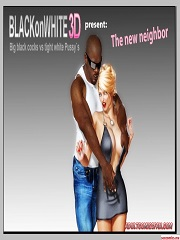 BlackonWhite3D – The New Neighbor