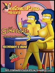 Croc -Old Habits 3 -The Simpsons Family Sex Parody