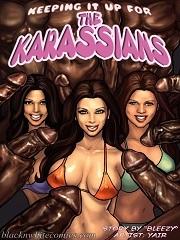 BlacknWhiteComics – Keeping It Up for the KarASSians
