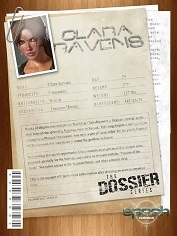 CrazyXXX3DWorld – Epoch Art – The Dossier 4 – Clara Ravens