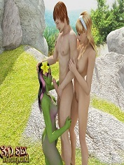 3D Sex in Fairyland – Lake